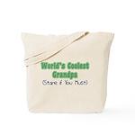 World's Coolest Grandpa Tote Bag