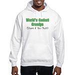 World's Coolest Grandpa Hooded Sweatshirt