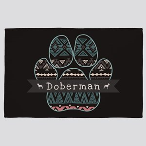 Doberman 4' x 6' Rug