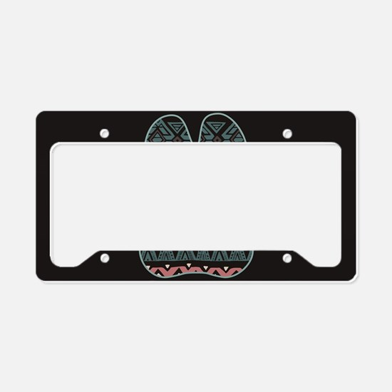 Doberman License Plate Holder
