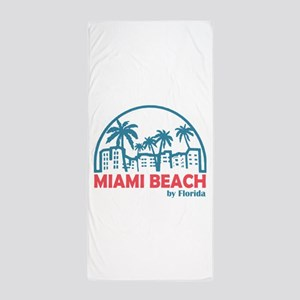 Summer Miami Beach Florida Towel