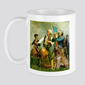 Spirit of '76 & Golden Mug