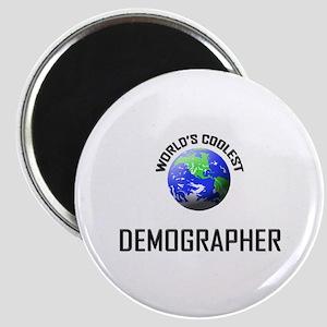 World's Coolest DEMOGRAPHER Magnet