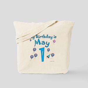 May 1st Birthday Tote Bag