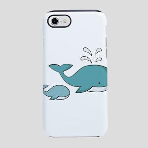 whale iPhone 8/7 Tough Case