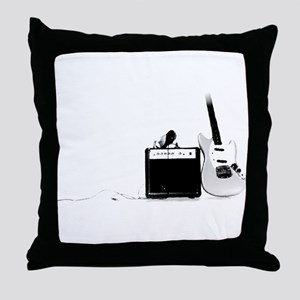 La Guitara Throw Pillow
