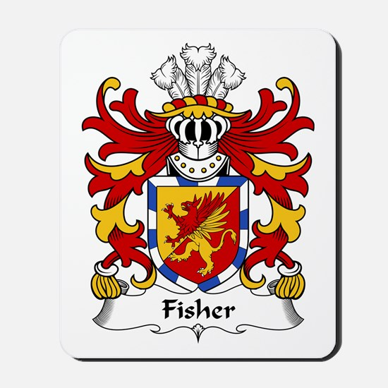 Fisher (of Carmarthenshire) Mousepad