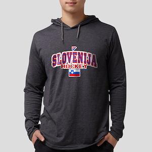 SI Slovenija(Slovenia) Hockey Long Sleeve T-Shirt