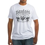 Medieval Crest Fitted T-Shirt
