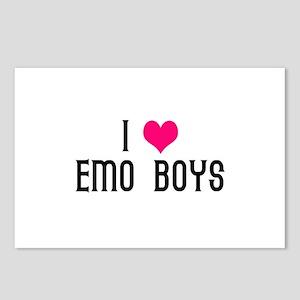 I Love EMO Boys Postcards (Package of 8)