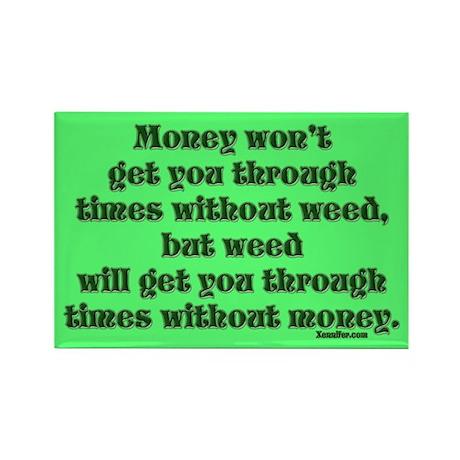 Money & Weed... Magnet