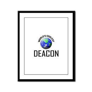 World's Coolest DEACON Framed Panel Print