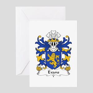 Evans (of Montgomeryshire) Greeting Card