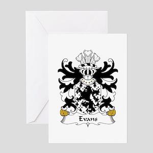 Evans (of Is-coed, Flint) Greeting Card