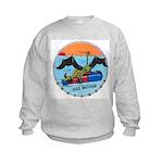 USS BATFISH Kids Sweatshirt