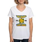 Surf Champ Women's V-Neck T-Shirt