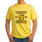 Surf Champ Yellow T-Shirt