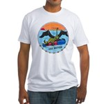 USS BATFISH Fitted T-Shirt