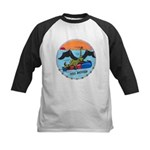 USS BATFISH Kids Baseball Jersey