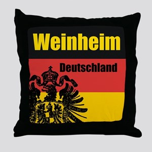 Weinheim Deutschland Throw Pillow