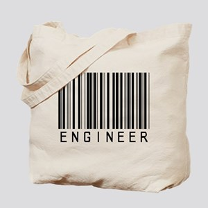 Engineer Bar Code Tote Bag
