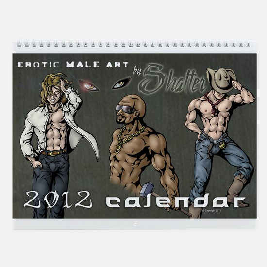 Erotic Male Pin-up Calendar