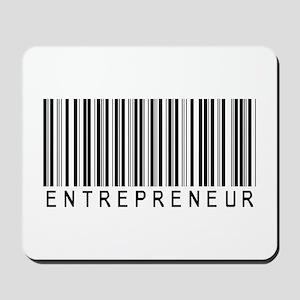 Entrepreneur Bar Code Mousepad
