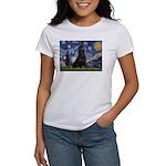 Starry Night & Gordon Women's T-Shirt