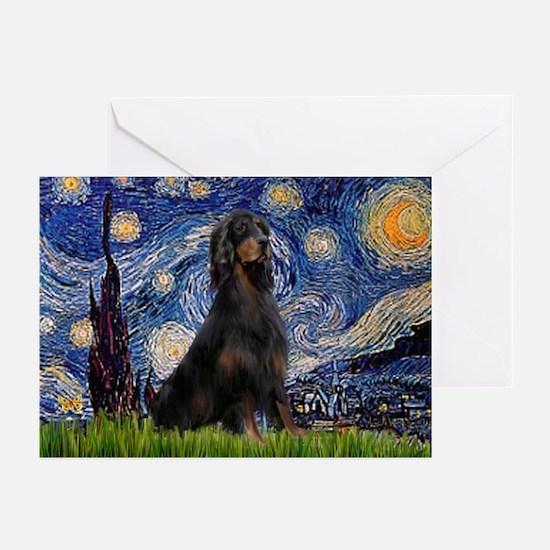 Starry Night & Gordon Greeting Cards (Pk of 10)