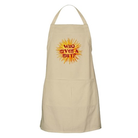 Who gives a shit? BBQ Apron