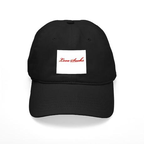 Love Sucks Black Cap