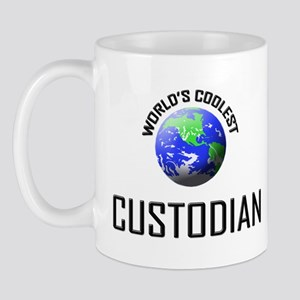 World's Coolest CUSTODIAN Mug