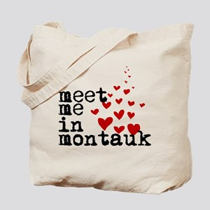 Meet Me In Montauk Tote Bag