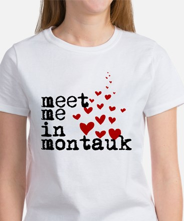 Meet Me in Montauk Women's T-Shirt