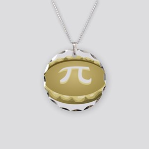 happy pi day pie Necklace Circle Charm