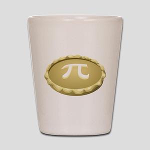 happy pi day pie Shot Glass
