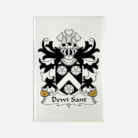 Dewi Sant (Saint David) Rectangle Magnet