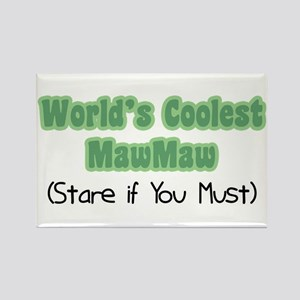 World's Coolest MawMaw Rectangle Magnet