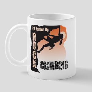 Women's Rock Climbing Mug
