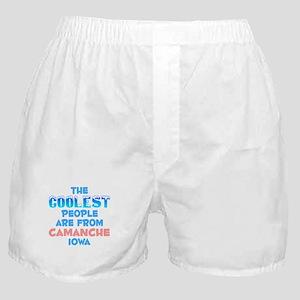 Coolest: Camanche, IA Boxer Shorts