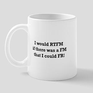 I would RTFM, but... Mug
