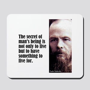 "Dostoevsky ""Secret"" Mousepad"