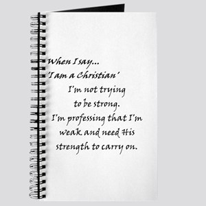 Weak~ Strength Journal