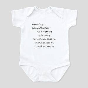 Weak~ Strength Infant Bodysuit