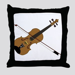 Fiddle or Violin? Throw Pillow