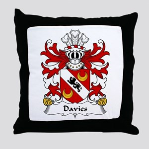 Davies (of Chester) Throw Pillow