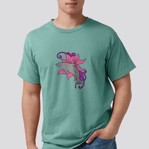 Dolphin Beside a Lily T-Shirt