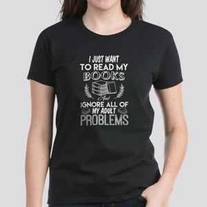 Read My Books T Shirt, Ignore All Of My Ad T-Shirt