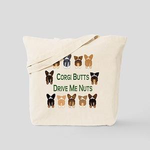 Both Corgi Butts Tote Bag