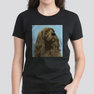 Sussex Spaniel (Front only) Women's Dark T-Shirt